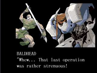 Guilty Gear Dr Baldhead Ending
