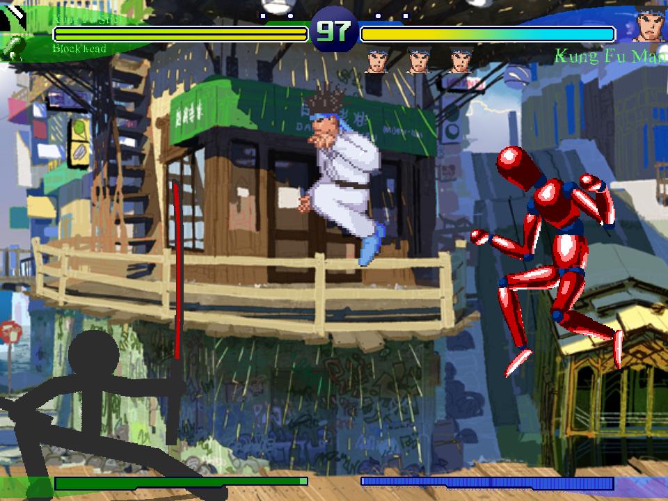 Fight screen