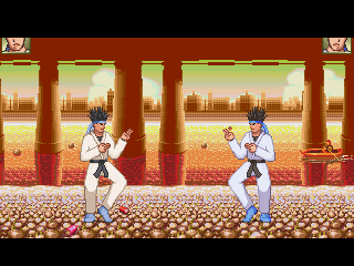 Mugen Ranma 1/2 Hard Battle background Ranma chan