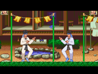 Ranma 1/2 Garden Background for Mugen