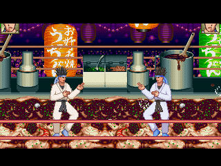 Ranma 1/2 Ukyo Arena Background for Mugen